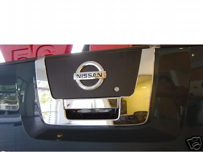 Nissan Titan  2004-2013 Chrome Tail Gate Handle Cover