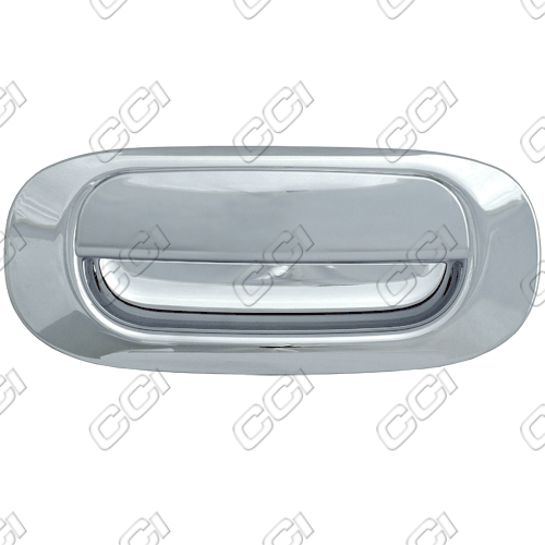 Mitsubishi Raider  2006-2009 Chrome Tail Gate Handle Cover