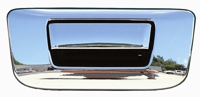 Gmc Sierra 2500 2007-2013 Chrome Tail Gate Handle W/ Keyhole Cover