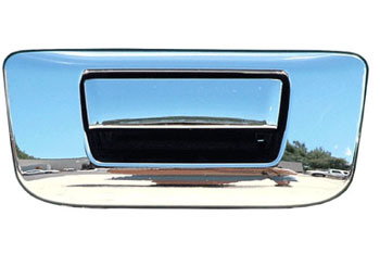 Chevrolet Silverado 2500 Hd 2007-2013 Chrome Tail Gate Handle W/ Keyhole Cover