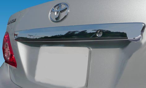 Toyota Corolla  2009-2013 Chrome Top Rear Accent Trim Cover