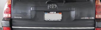 Toyota 4Runner  2003-2009 Stainless Rear Accent Trim Cover