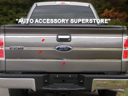 Ford F150  2009-2013 Stainless Rear Accent Trim Cover