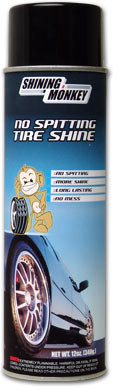 Shining Monkey No Spit Tire Shine