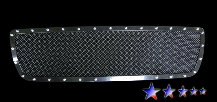 Toyota Tundra  2007-2009 Black Powder Coated Main Upper Rivet Grille