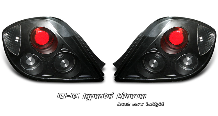 Hyundai Tiburon Tail Lights
