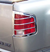 2001 Chevrolet S10 Pickup   Chrome Tail Light Trim Bezels