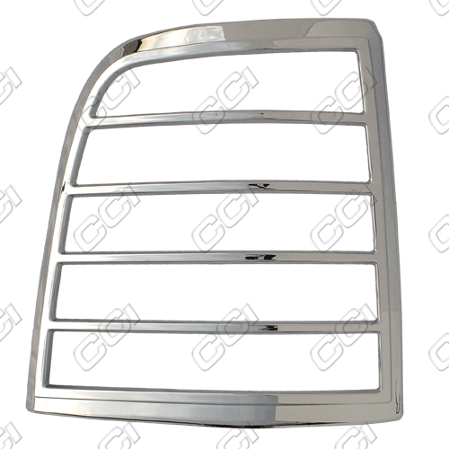 Ford Explorer 2002-2005   Chrome Tail Light Bezel Trim