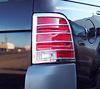 2005 Ford Explorer   Chrome Tail Light Trim Bezels