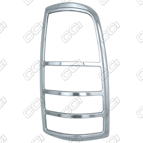 Chevrolet Silverado 1999-2002   Chrome Tail Light Bezel Trim