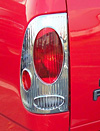 2001 Ford F150  Styleside Chrome Tail Light Trim Bezel