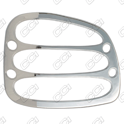 Ford F150 Flareside 1997-2003 Chrome Tail Light Trim Bezels