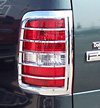 2007 Ford F150   Chrome Tail Light Trim Bezels