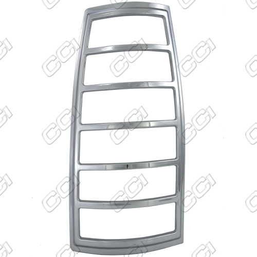 Cadillac Escalade  1999-2001 Chrome Tail Light Trim Bezels