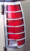 1992 Chevrolet Suburban, Tahoe, Yukon  Chrome Tail Light Trim Bezel