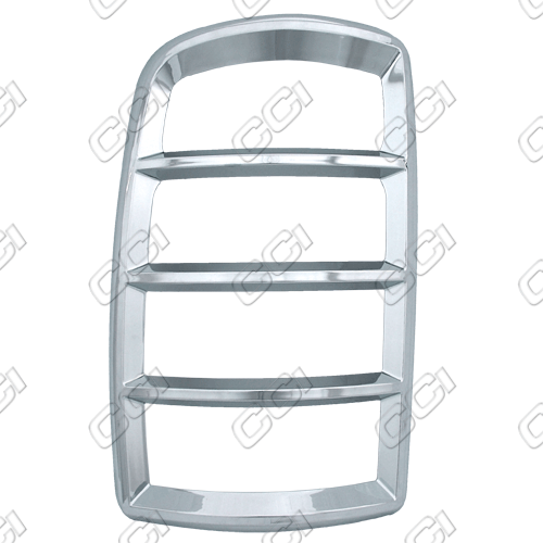 Chevrolet Tahoe  2000-2006 Chrome Tail Light Trim Bezels