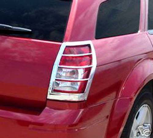 Dodge Magnum  2005-2008 Chrome Tail Light Trim Bezels