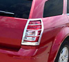 2008 Dodge Magnum   Chrome Tail Light Trim Bezels