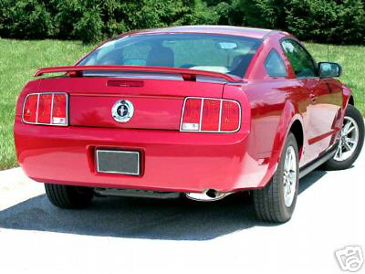Ford Mustang  2005-2009 Chrome Tail Light Trim Bezels