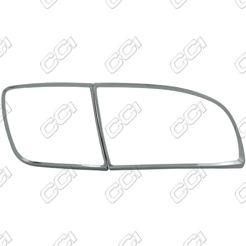 Mazda Mazda 3 2004-2009   Chrome Tail Light Bezel Trim