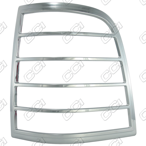 Ford Explorer  2006-2010 Chrome Tail Light Trim Bezels