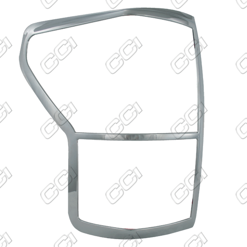 Toyota Tundra  2010-2013 Chrome Tail Light Trim Bezels