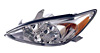 2002 Toyota Camry (LE and XLE with Chrome Housing)  Driver Side Replacement Headlight