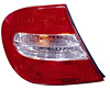 2002 Toyota Camry  Driver Side Replacement Tail Light