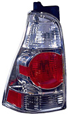 Toyota 4Runner 03-05 Chrome Euro Tail Lights