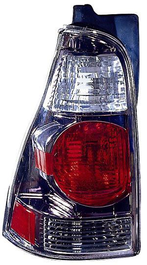 Toyota 4Runner 03-05 Gun Metal Euro Tail Lights