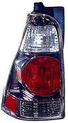Toyota 4Runner 03-05 Gun Metal Euro Tail Lights