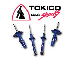 Honda Civic/CRX (Exc. Wagon) 1988 Tokico Gas Shocks (Front)