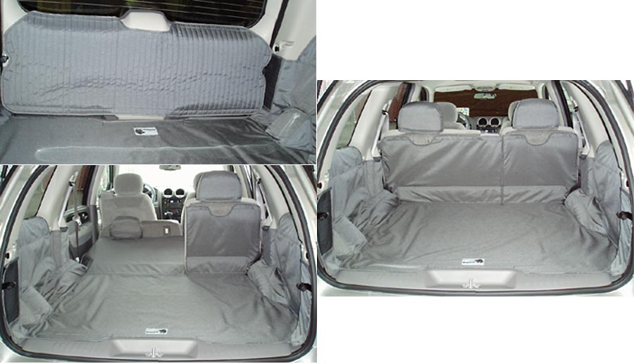 Chevrolet Trailblazer 02-05 Cargo Liner, models w/ Liftgate, 60/40 2nd Row Bench, NO 3rd Row