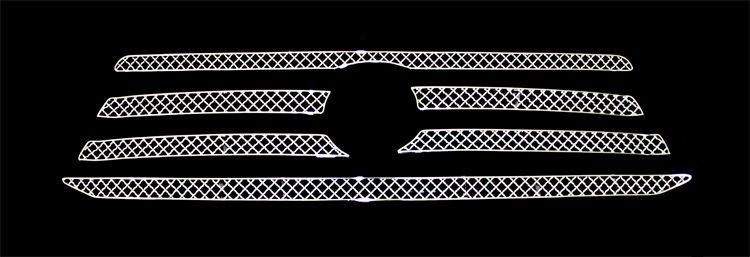 Toyota Highlander  2008-2010 Chrome Main Upper X Mesh Grille