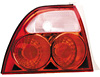 Altezza Tail Lights 94-95 Accord (Jaguar Style All Red)