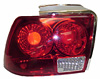 Ford Mustang 1999-2004 Altezza Clear Tail lights (Jaguar Style Red)