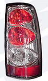 Chevy P/U Full Size 1999-2002 Chrome Euro Taillight (TYC)