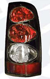 2001 Chevy P/U Full Size  Black Euro Taillight (TYC)