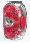 Ford Explorer 1998-2001 Chrome Euro Taillight (TYC)