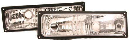 Chevy Full Size Truck 1994-1998 Clear Parking Lights (TYC)