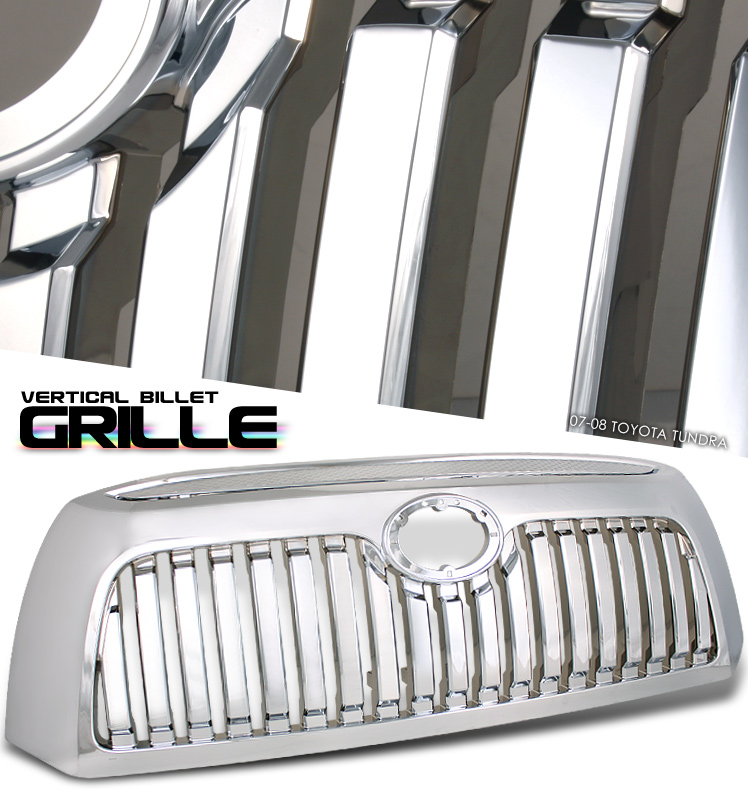 Toyota Tundra 2007-2008  Vertical Style Front Grill