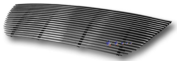 Mitsubishi Montero Sport  2001-2004 Polished Main Upper Aluminum Billet Grille