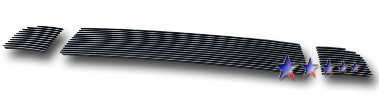 Mitsubishi Lancer  2008-2012 Polished Lower Bumper Aluminum Billet Grille