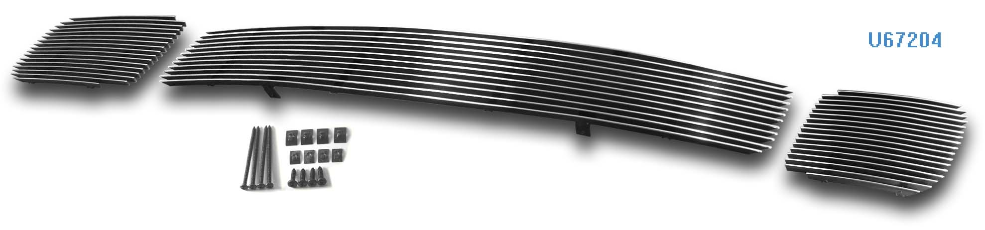 Mitsubishi Endeavor  2004-2005 Polished Lower Bumper Aluminum Billet Grille
