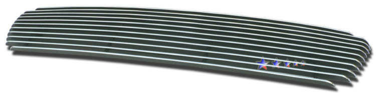 Volvo V50  2005-2006 Polished Main Upper Aluminum Billet Grille