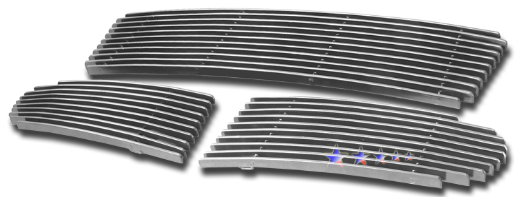 Volvo V50  2005-2006 Polished Lower Bumper Aluminum Billet Grille