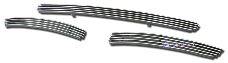 Volvo Xc90  2005-2006 Polished Lower Bumper Aluminum Billet Grille