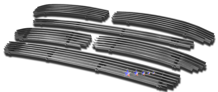 Volkswagen Touareg  2003-2007 Polished Lower Bumper Aluminum Billet Grille