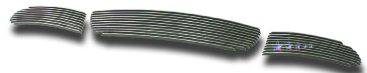Volkswagen Beetle  2006-2011 Polished Lower Bumper Aluminum Billet Grille