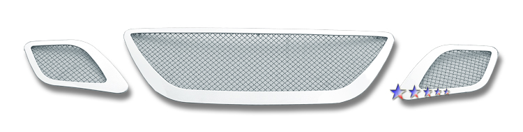 Saab 9-7x  2007-2010 Chrome Main Upper Mesh Grille